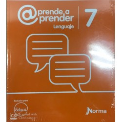 aprende a prender - lenguaje 7